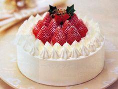 Bolo Decorado de Natal Japan Christmas Cake Bolo Natalino Feliz Natal