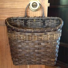 Magazine Wall Basket by JoannasCollections on Etsy