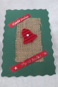 Joulukortteja :: Elisedesign-and-bake Christmas Cards, Christmas Ornaments, Origami, Baking, Holiday Decor, Paper, Xmas Greeting Cards, Xmas Ornaments, Bread Making