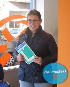 Laura se sacó el carnet de conducir en Autoescuelas Vial Masters. ¡¡Enhorabuena!! ¡Disfrútalo!