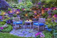 31 Fantastic Cottage Garden Ideas to Create Cozy Private Spot Pergola On The Roof, Pergola Plans, Summer Porch Decor, Shade Garden Plants, Garden Inspiration, Garden Ideas, Backyard Garden Landscape, Flower Garden Design, Garden Whimsy