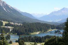 Das Hochtal von Lenzerheide, Graubünden