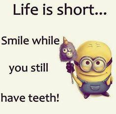 Funny Minions pictures jokes (04:41:40 PM, Saturday 15, October 2016 PDT) – 66... - funny minion memes, funny minion quotes, Funny Quote, Minion Quote, Minion Quote Of The Day - Minion-Quotes.com
