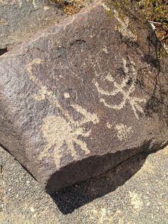 Painted Rock Petroglyph site...AZ.