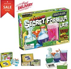 Extreme Toys Science Kit for Kids 7 8 9 10 Years Old Boys Girls Educational Toy