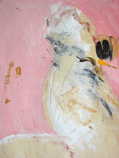 Original Painting Pink acrylic abstract art on by CherylWasilowArt, $75.00