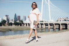 Maternity Style: the perfect pink dress for any occasion #asos