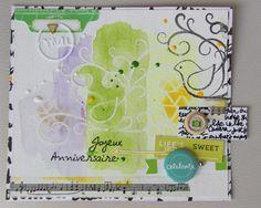 Carte réalisée par Scrapetitpois DT ISDesign http://infinimentblog.canalblog.com/archives/2015/07/01/index.html
