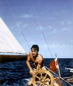 Alain Delon in Plein soleil directed by René Clément, 1960