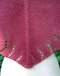 free knitting shawl patterns | Free Knitting Pattern - Soft Linen Shawl from the Lace shawls Free ...