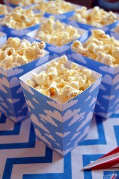 Cloud Popcorn Boxes