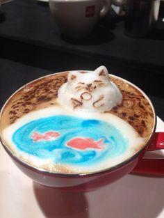 Pop-Out Coffee – The 3D Latte Art of Kohei Matsuno