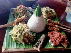 Posh Nasi campur at Bali Asri.
