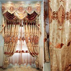 cortina de organza salmão - Pesquisa Google