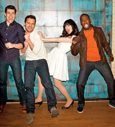 love this bunch! #newgirl
