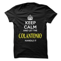 COLANTONIO KEEP CALM Team - #creative gift #bestfriend gift. MORE INFO => https://www.sunfrog.com/Valentines/COLANTONIO-KEEP-CALM-Team-56540028-Guys.html?68278