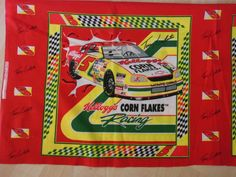 Vintage Terry LaBonte Screenprinted Pillow Sewing by SewManyLoves, $9.99