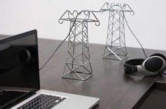 """Convierte los cables de tus auriculares en """"torres de energía"""""""