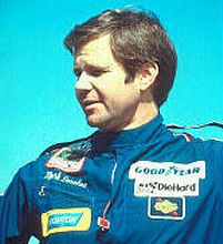 Mark Donohue (1937 - 1975) Autor Race Car Driver. The winner of the 1972 Indianapolis 500 and the Can Am in l973. He had actually retired from racing but came back when car owner Roger Penske wanted to go into Formula 1 racing. He was testing a car in Austria when he lost control of the car and crashed through a steel barrier and a advertising sign. He sustained a fatal head injury from the crash.
