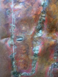 More copper patina
