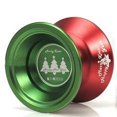 Aliexpress.com : Buy Toy Yo Yo Shenji Aluminium Alloy Christmas Style YoYo Desting (Red + Green) from Reliable yo-yo suppliers on Chinatownmart (HongKong) Limited