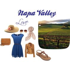 Day at the winery by megnapavalley on Polyvore featuring Andrew Marc, Tory Burch, Stella & Dot, Apt. 9 and MANGO