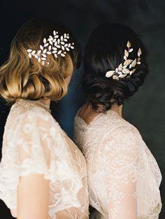 exquisite bridal updo inspiration | image via: magnolia rouge