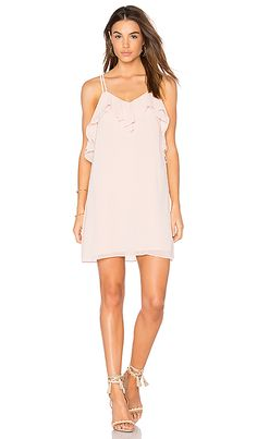 Shop for BCBGeneration Ruffled Mini Dress in Rose Smoke at REVOLVE. Free 2-3 day shipping and returns, 30 day price match guarantee.