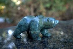 Your place to buy and sell all things handmade Stone Sculpture, Sculpture Art, Dremel Carving, Soapstone Carving, Small Sculptures, Stone Age, Bear Cubs, Hand Carved, Rocks