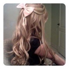 I love bows, but they don't work for my hair  is to short :(!
