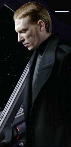 General Hux Star Wars The Last Jedi *sigh* why do I like him so much?