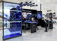 Dior Cosmetics In Store Display by Elemental Design.