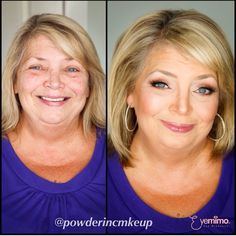 """{Repost caption from @powderincmakeup} """"My beautiful 60yr old mom let me do her hair and makeup before she flew home to Canada tonight:)"""" @powderincmakeup uses our pre-set eyelash extensions on almost all their clients' eyes. ::::::::::::::::::::::::::::::::::::::::::::::::::::::: ⒮⒣⒪⒫  ⒫⒭⒪⒟⒰⒞⒯⒮  ⒜⒯  http://www.shopeyemimo.com/categories/Eyelash-Extensions"""