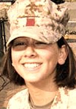 Marine Cpl Jennifer M. Parcell, 20, of Bel Air, Maryland. Died February 7, 2007, serving during Operation Iraqi Freedom. Assigned to Combat Logistics Regiment 3, 3rd Marine Logistics Group, III Marine Expeditionary Force, Okinawa, Japan. Died of injuries sustained when an Iraqi woman she was searching at a checkpoint detonated an improvised explosive device hidden in a suicide vest in Barwanah, Anbar Province, Iraq.