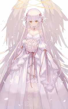 You are literally an angel 😙, are literally an angel 😙 Anime is hand-drawn and computer animation originating from or associated with Japan. The word anime is the Japanese term. Manga Angel, Anime Angel Girl, Anime Art Girl, Anime Girls, Manga Kawaii, Arte Do Kawaii, Kawaii Anime Girl, Anime Chibi, Chica Anime Manga