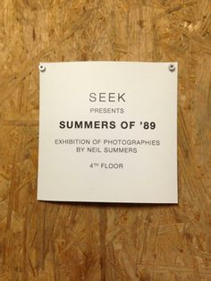 'Summers of '89' trend idea: SEEK