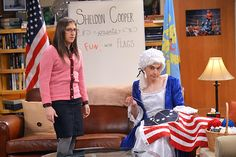 "The Big Bang Theory season 8, episode 10 ""The Champagne Reflection"""