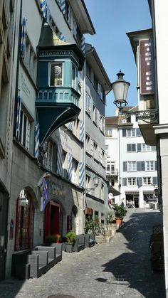 Zurich Old Town. Switzerland.  I want to go see this place one day. Please check out my website thanks. www.photopix.co.nz