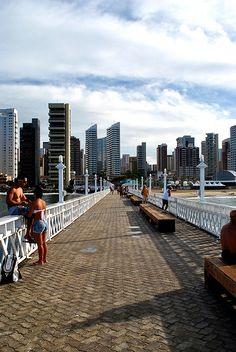Ponte dos Ingleses - Fortaleza CE - Brasil - Lugar perfeito pra ver o pôr do sol!