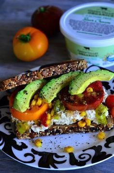 Garden Fresh Tuna Sandwich from ReluctantEntertai...
