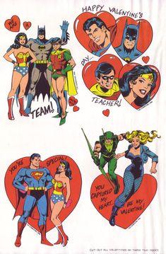 Super Friends Action Valentine Playbook