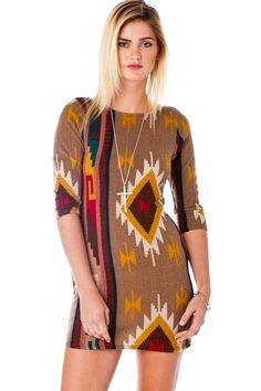 ShopSosie Style : Paseo Bodycon Sweater Dress