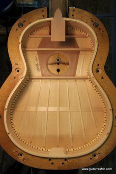 Luis Fernández de Córdoba, luthier: Making a flamenco guitar | the braced top...