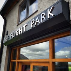 The new shop front. www.theflightpark.com