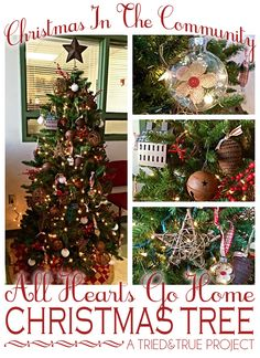 """""""All Hearts Go Home"""" Christmas Tree Decorations"""