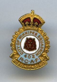 RCAF - 402 Squadron - City of Winnipeg (King's Crown)