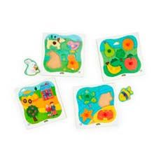 Each puzzle has 4 #chunky pieces with pegs for easy #lifting. Puzzle #themes are easily #recognised by young children. Helps develop shape recognition. All pieces are made from quality #durable wooden board. #british #england #derby #madeinengland #madeinbritain