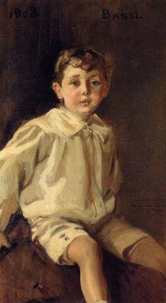 Joaquin Sorolla y Bastida (1863 – 1923, Spanish) | I AM A CHILD