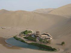 China's Desert Oasis   China's desert oasis   News.com.au