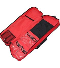 Gift Wrap Storage Organizer In Red